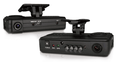 HD 2 Channel DashCam camera-system