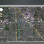 Safety Track Satellite View System
