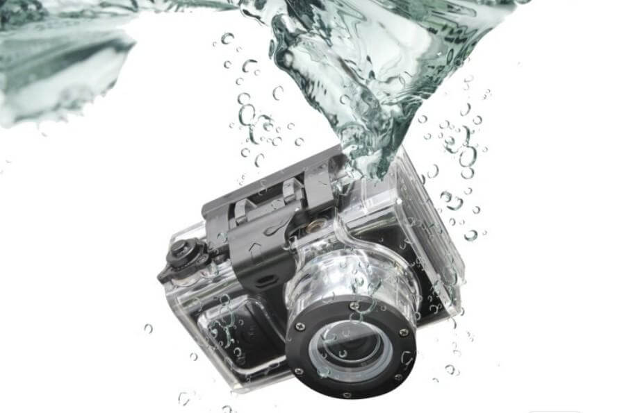 Fleet Vehicle Camera Systems - dropped in water sports camera